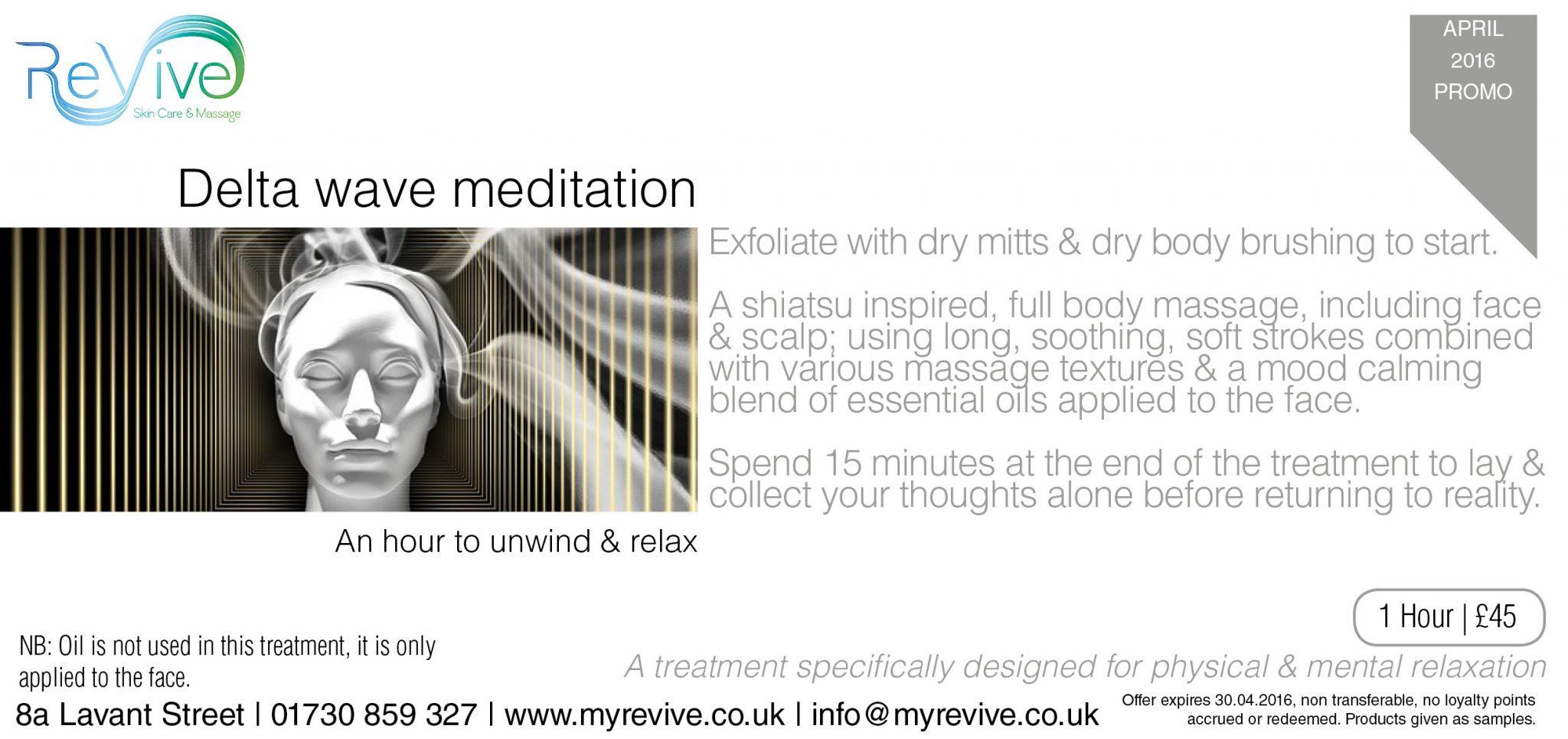 Delta Wave Meditation ReVive Petersfield
