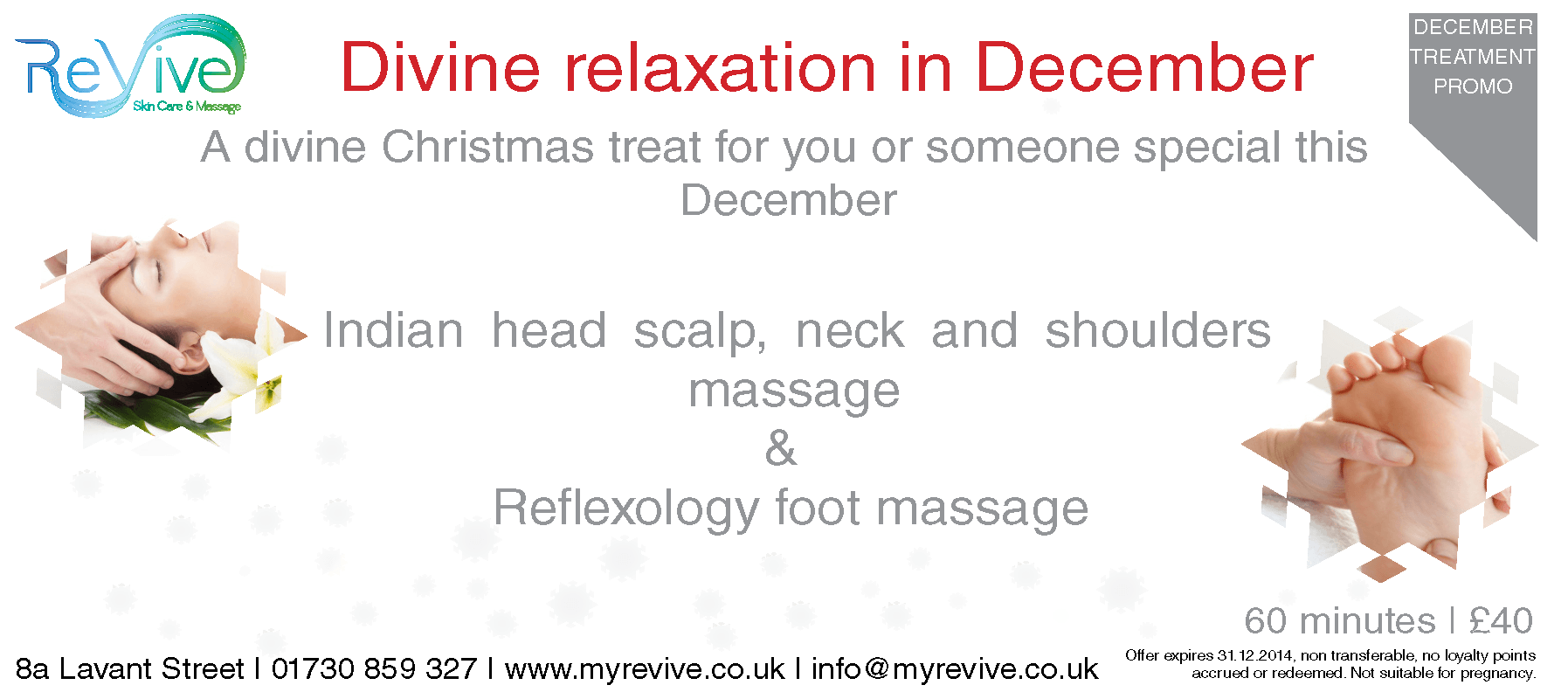 Treatment promotion December 2014