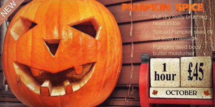 pumpkin spice massage revive petersfield