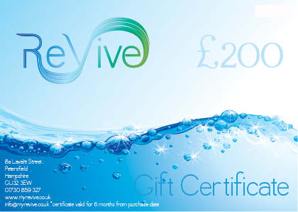 £200 ReVive Gift Certificate