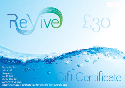 £30 ReVive Gift Certificate