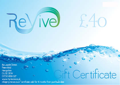 £40 ReVive Gift Certificate