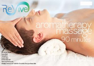 aromatherapy massage Petersfield