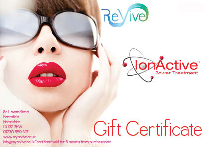 dermalogica ionactive power treatment gift certificate
