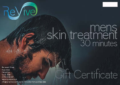 mens facial Petersfield