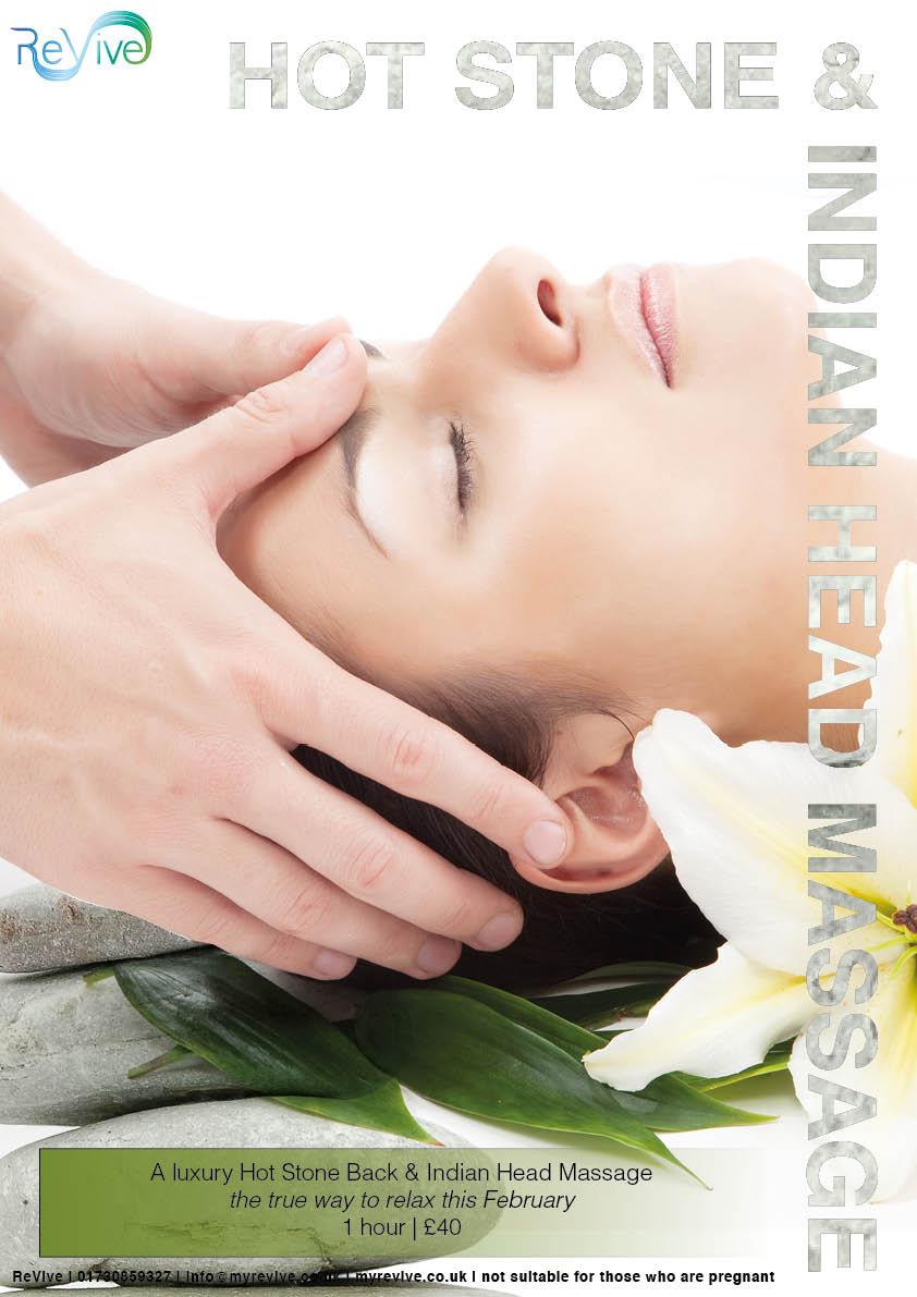 Indian head massage petersfield